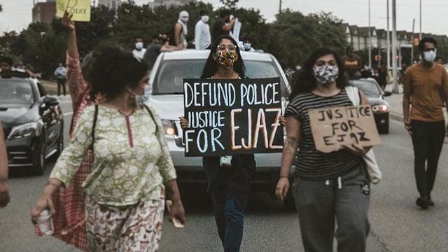 justiceforejazprotest