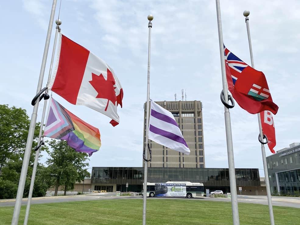 flags-at-half-mast