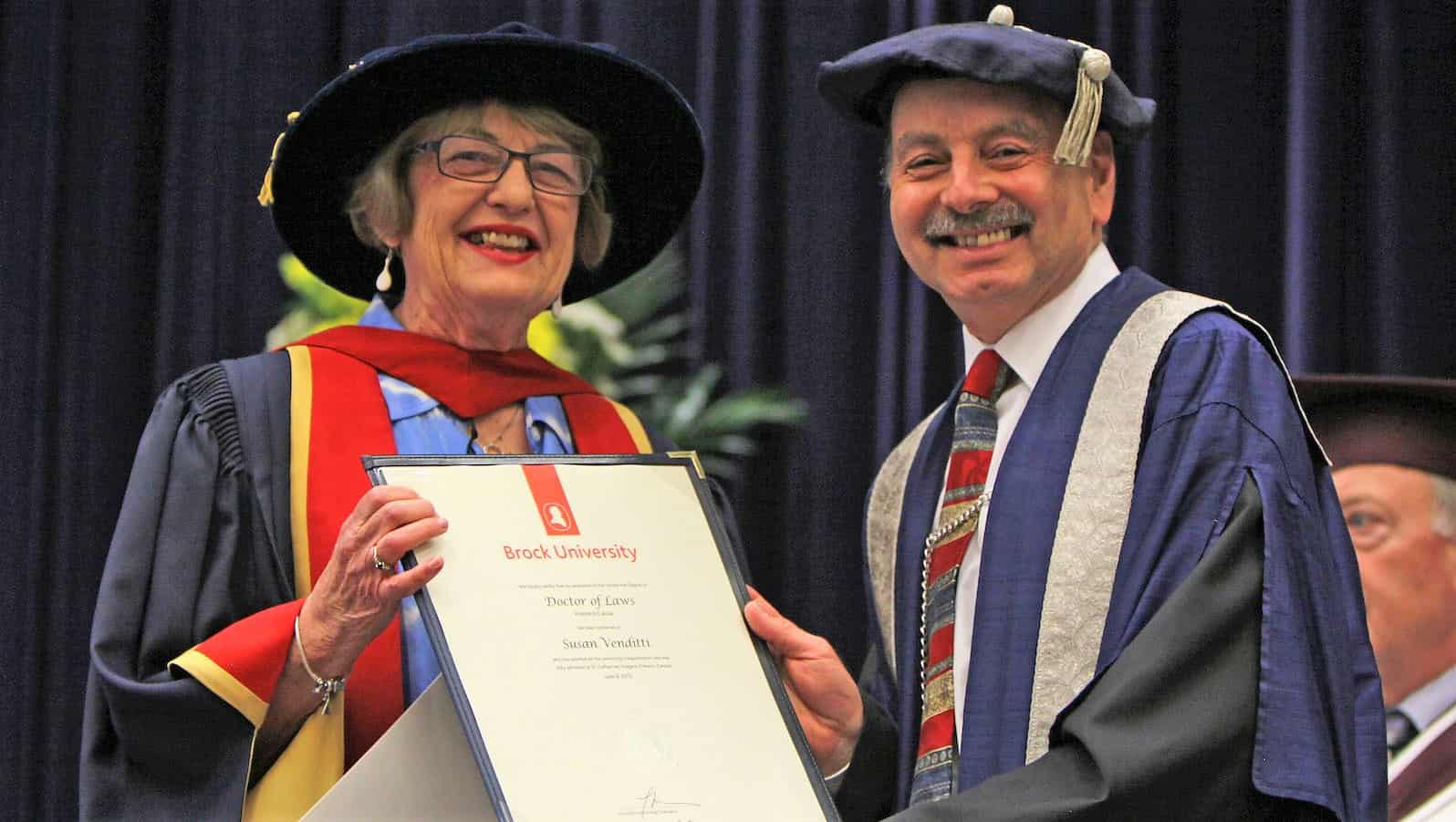 susan_venditti_executive_director_of_start_me_up_niagara_receives_an_honorary_degree_from_brock_president_jack_lightstone
