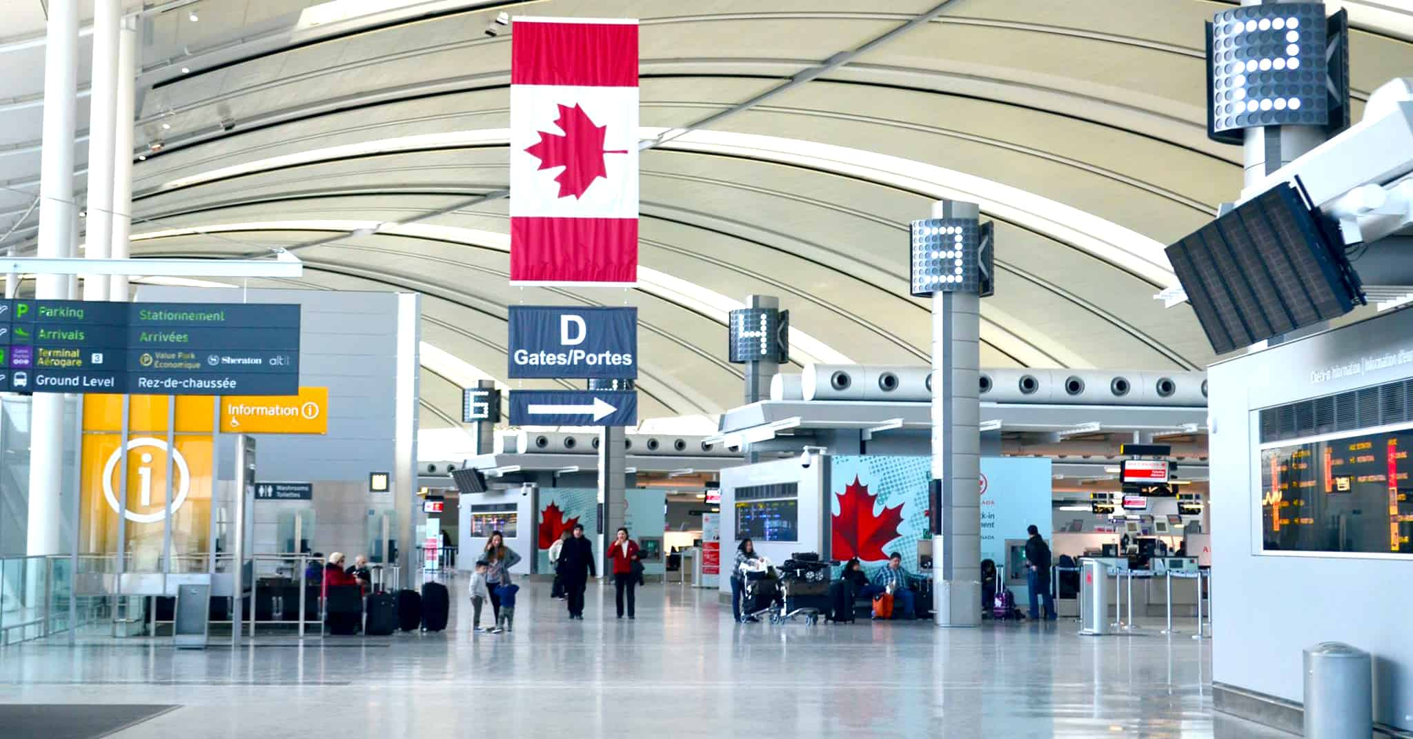 Pearson Airport in Mississauga