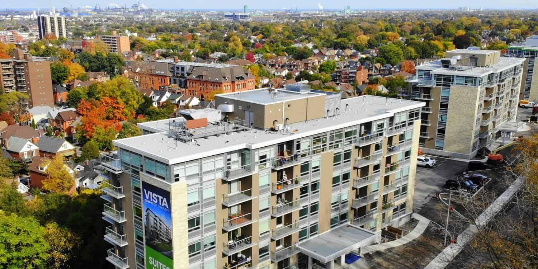 Vista Condos on Charlton in Hamilton