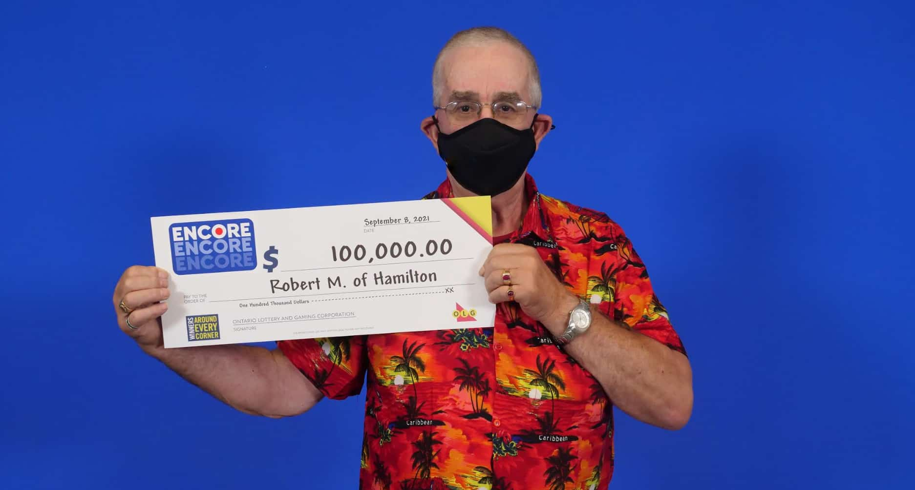 Hamilton lottery winner