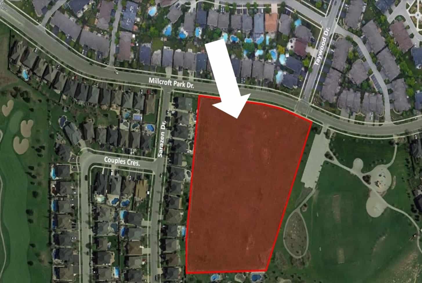 Milcroft development pre application propsal burlington